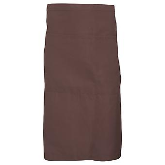 Dennys Adults Unisex Catering Waist Apron With Pocket (Pack of 2)