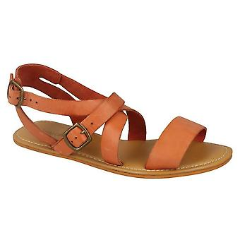 Leather Collection Womens/Ladies Summer Strappy Sandals