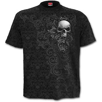 Spiral - SKULL SCROLL - All Over Print T-Shirt