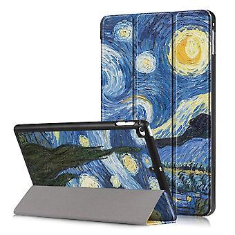 iPad Mini 2019/Mini 4 Slim fit gevouwen mouw-sterrenhemel