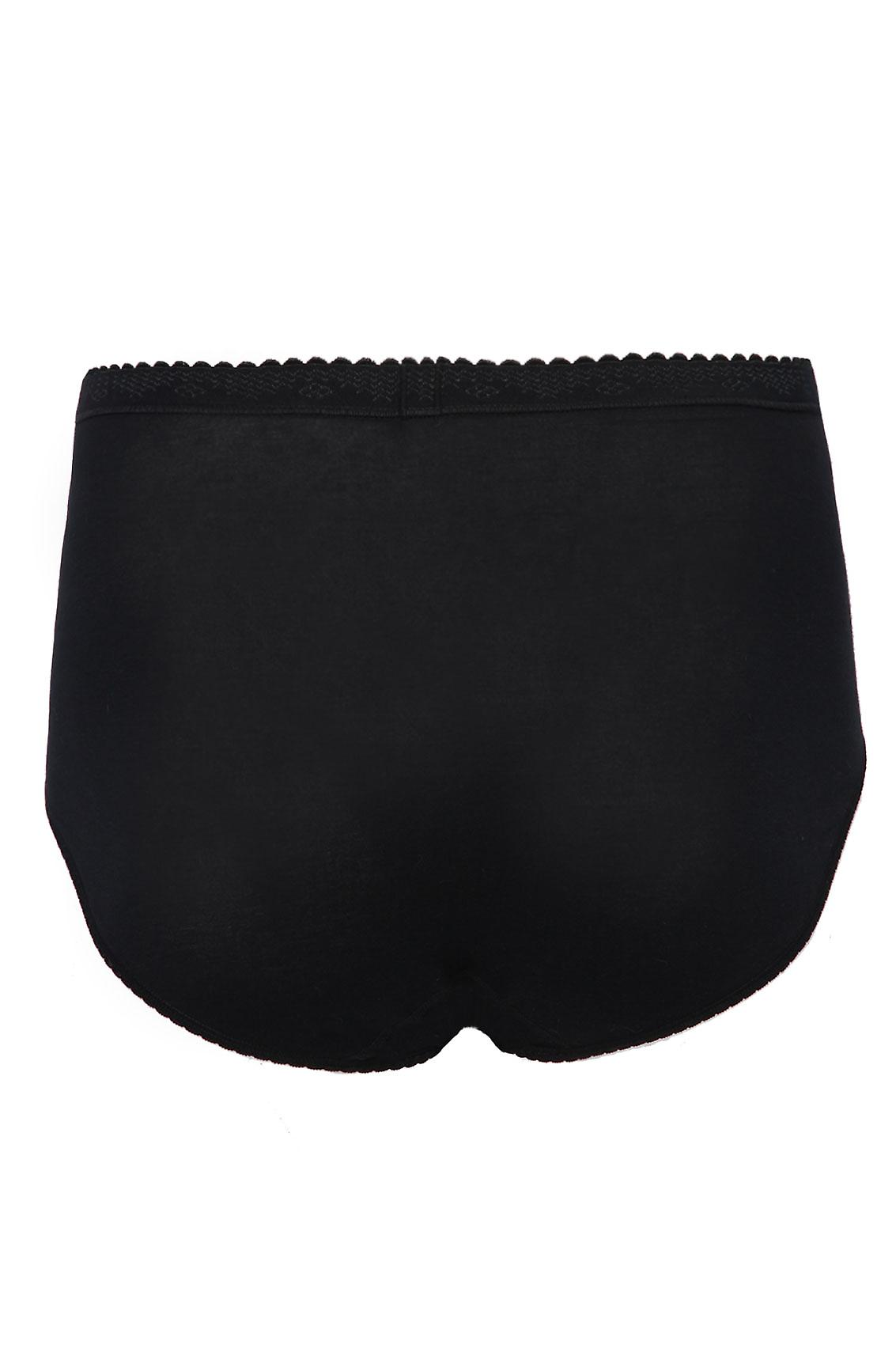 SLOGGI 2 PACK Black Control Maxi Briefs