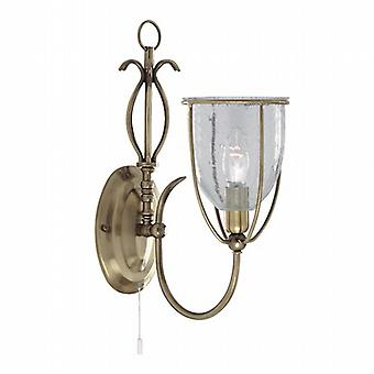 Searchlight Silhouette 6351-1AB Traditional Wall Lights Single