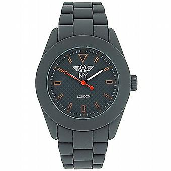Prince London Rubberised Grey Strap Men's Watch PL3020