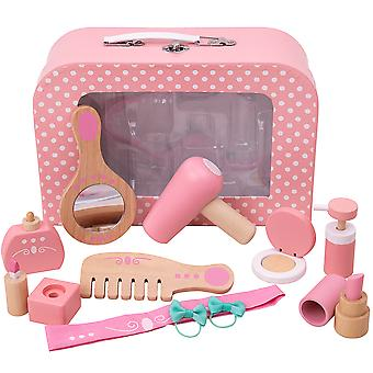 Bigjigs Toys Vanity Kit - Rollenspiel Beauty Kosmetik Make-up Set