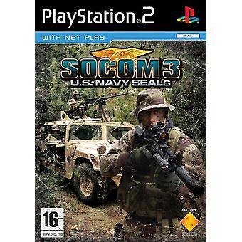 Socom 3 US Navy Seals PS2 Game