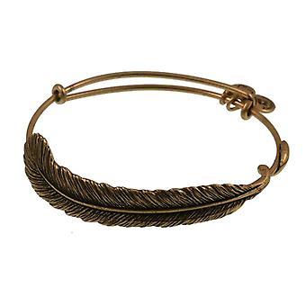 Alex et Ani plume plume Wrap or bracelet A09EB131RG