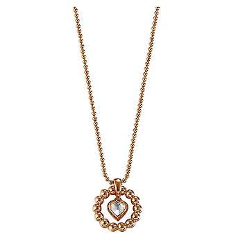 Esprit Ladies´ Necklace Pellet Heart Rose (ESNL92073C)