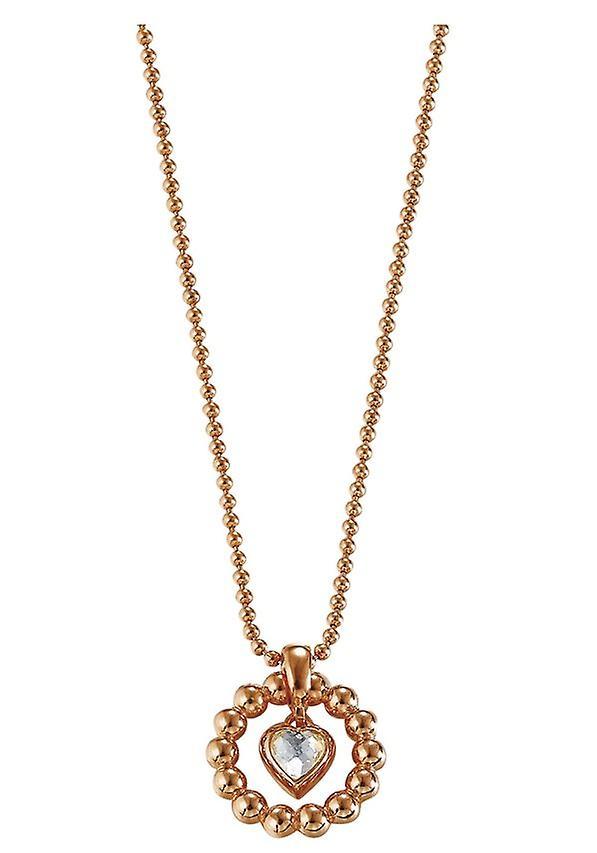 Esprit Damenkette Pellet Heart Rose (ESNL92073C)