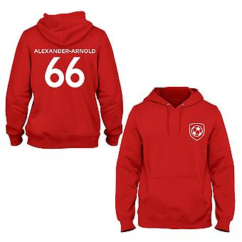 Trent Alexander-Arnold 66 Liverpool Style Player Hoodie