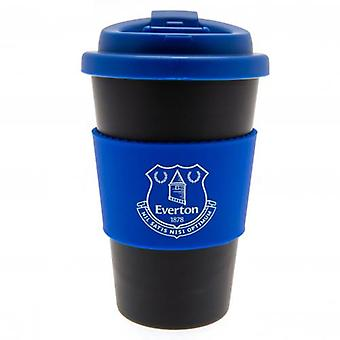 Everton Silicone Grip Travel Mug