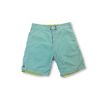 Tailor Vintage reversible swi shorts in green