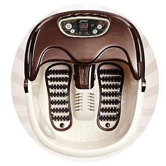 Massager Foot Spa (fr) Bubble Soak Rolling Scrapping Vibration Heat