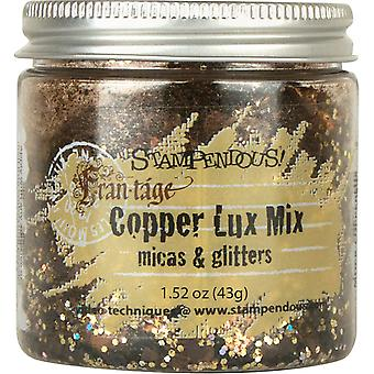 Stampendous Micas & Glitters Lux Mix 1,27 Oz Kupfer Frl03