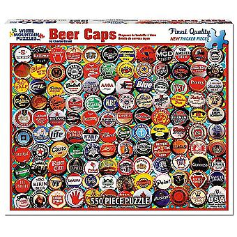 Beer Caps 550 piece jigsaw puzzle 610mm x 450mm  (wmp)