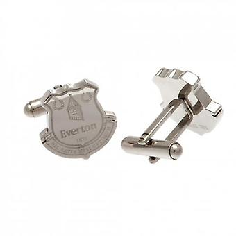 Everton Stainless Steel Cufflinks CR