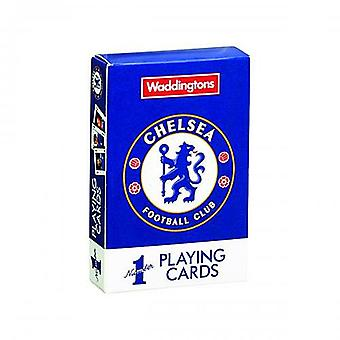 Chelsea FC set of 52 playing cards    (tfs)
