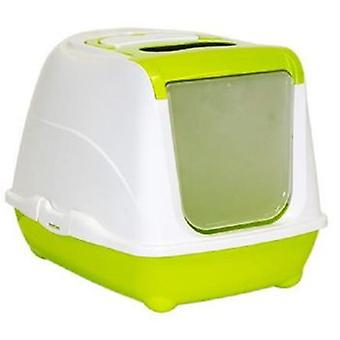 Moderna Flip Gatera Green Cat (Cats , Grooming & Wellbeing , Covered Litter Trays)