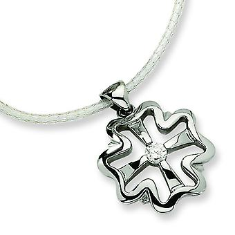 Stainless Steel Pendant Necklace - 18 Inch