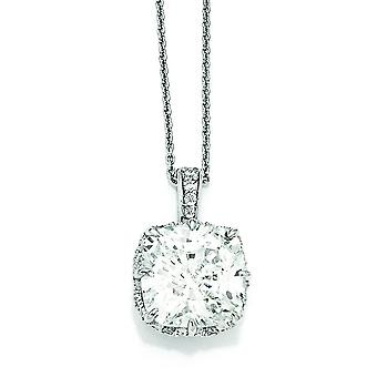 Collana in argento Sterling CZ 18 pollici - 18 pollici