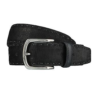 Windsor. Belts men's belts leather belt black 4184