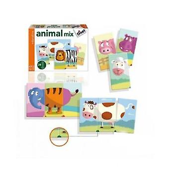 Diset Animals Mix (Toys , Preschool , Puzzles And Blocs)
