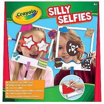 Crayola Silly Selfies Create Your Own Props Kit With Markers