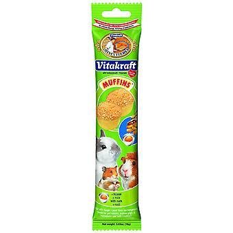 Vitakraft Small Animal Muffins Nuts 5pack 18g (Pack of 12)