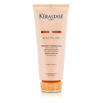 Kerastase Discipline Fondant Fluidealiste Smooth-in-Motion Care - For All Unruly Hair (New Packaging) 200ml/6.8oz