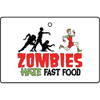 Zombie odiano Fast Food Car Air Freshener