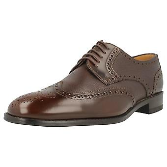Mens Loake Lace Up Brogue Shoes Arlington