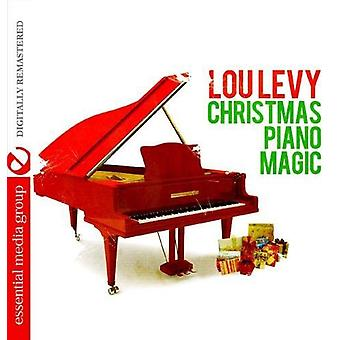 Lou Levy - importación de Estados Unidos Magic Piano de Navidad [CD]