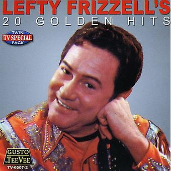 Lefty Frizzell - 20 Golden Hits [CD] USA importerer