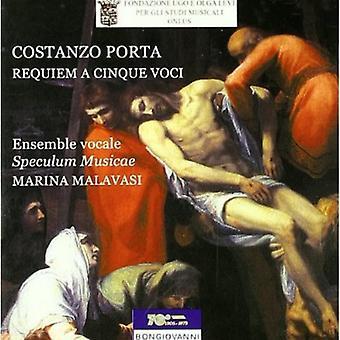 Costanzo Porta - Requiem a Cinque Voci/Memento Domine David/Deus in [CD] USA import