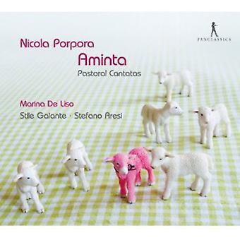 Nicola Porpora - Nicola Porpora: Aminta - pastorale kantater [CD] USA importerer