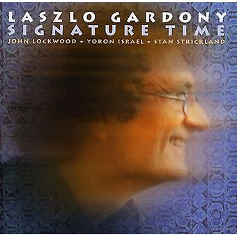 Laszlo Gardony - signatur tid [CD] USA import