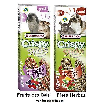 VL sprøde Sticks kanin & Chinchilla urter 2pk (Pack af 8)