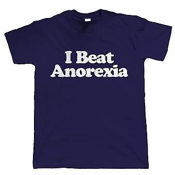 Ik sloeg Anorexia, Mens grappig Tshirt