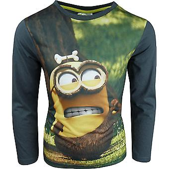 Despicable Me Minions Boys Long Sleeve Top / T-Shirt