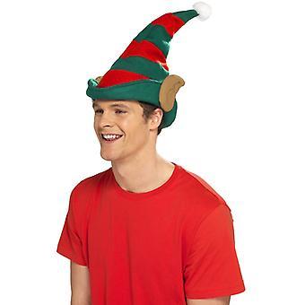 Elfenhut Weihnacht Elfen Mütze Hut mit Ohren Elfhut