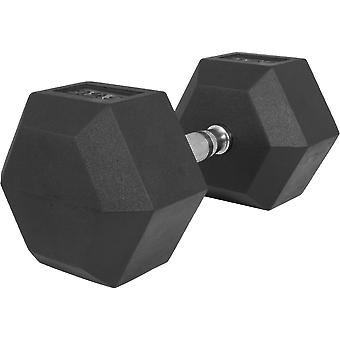 Hexagon Kurzhantel Gummi 32,5 kg