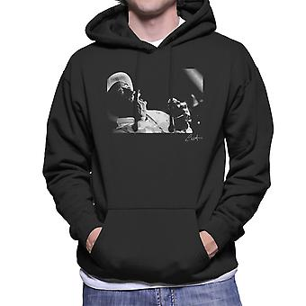 Lee Scratch Perry Performing At Dingwalls London 1980s Men's Hooded Sweatshirt