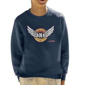 Haynes Marke Flügel Premium Grade Motorenoel Kinder Sweatshirt