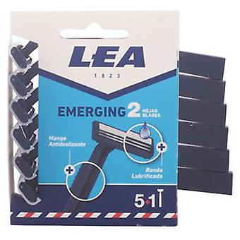 Lea Emerging Disposable Razor 2 Hojas 5 +1 you (Man , Shaving , Razor blades)