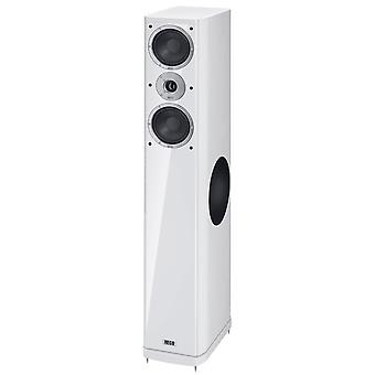 Heco music style 800, Floorstanding speaker, 3 way bass reflex with Sidefire bass, color: white, 1 pair new