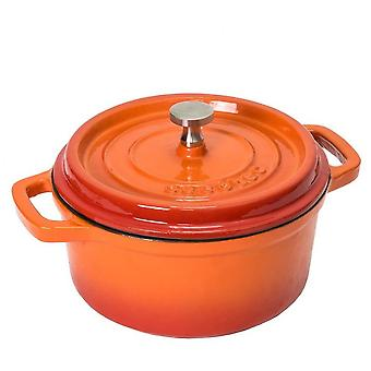 Cecotec Cocotte 24 Fuego (Home , Kitchen , Kitchenware and pastries , Pots and saucepans)