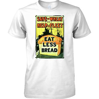 WW2 US Military Propoganda Poster - Save The Wheat - Kids T Shirt