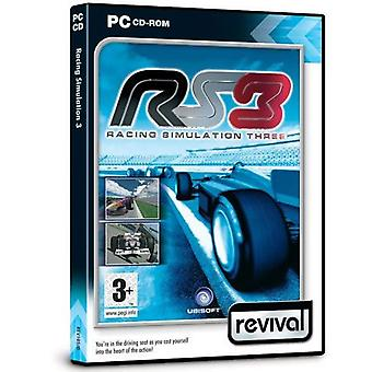 Racing simulationsspil 3 PC CD