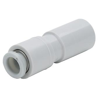 SMC Kq2 Pneumatic Straight Tube-To-Tube Adapter, Plug In 10 Mm