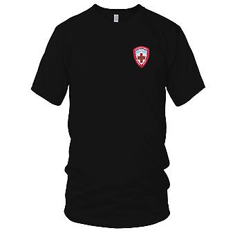 US Army - 571st Aviation Medical Company Air Ambulance Embroidered Patch - Ladies T Shirt