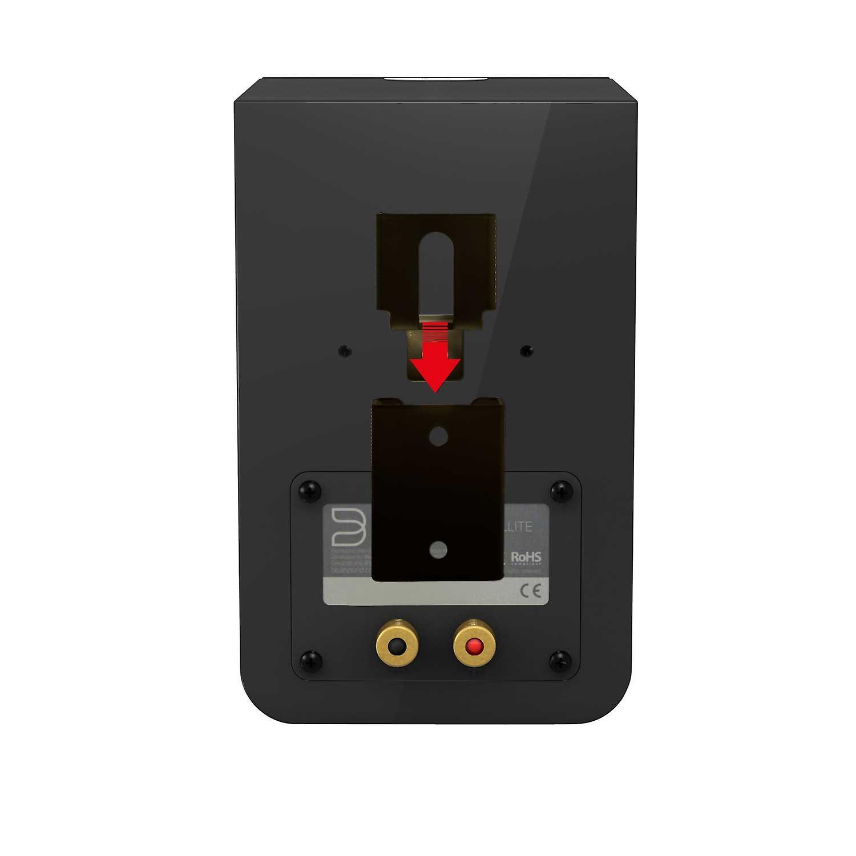 Vebos portable wall mount Bluesound Duo black